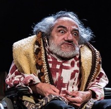 Nabil Shaban on Brecht, acting and cripping-up...